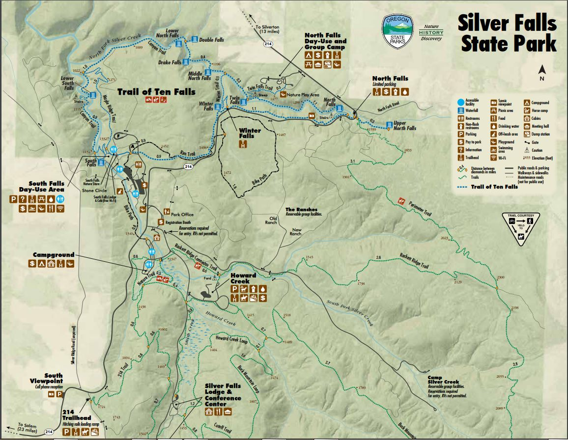 Coldwater Mountain Bike Trail Map Map Of The East Coast