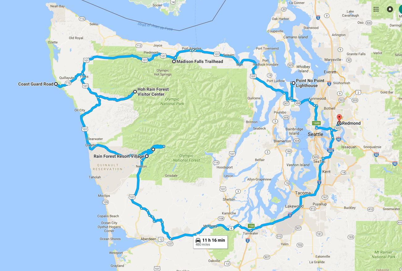 May 14 Olympic Peninsula Trip