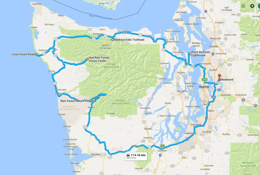 May 14 Olympic Peninsula Trip