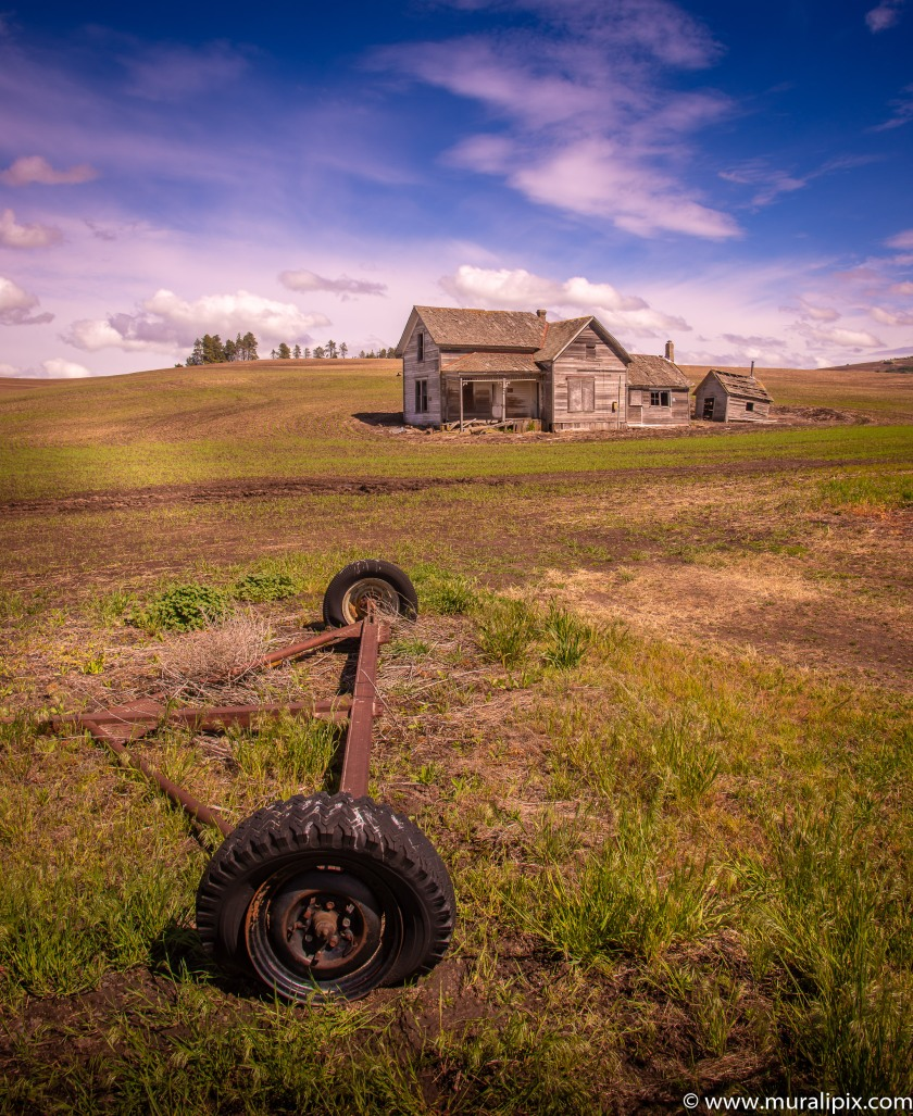 Abandoned Palouse Farmhouse 01