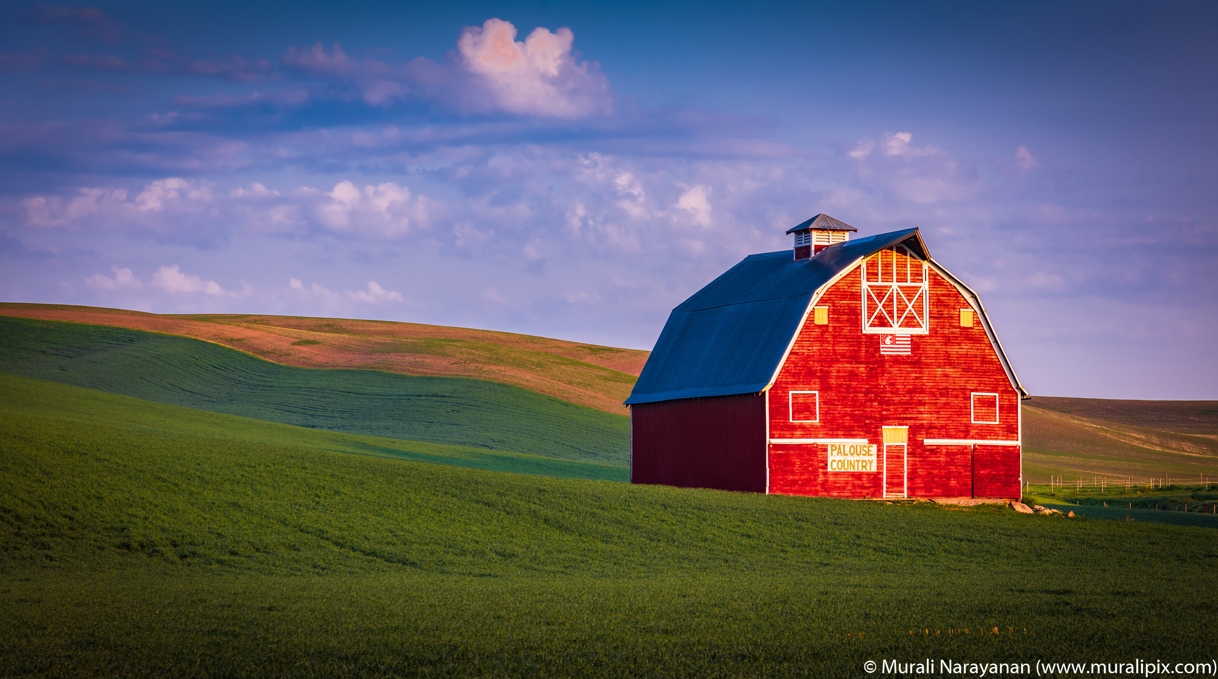 Palouse Country Barn 01